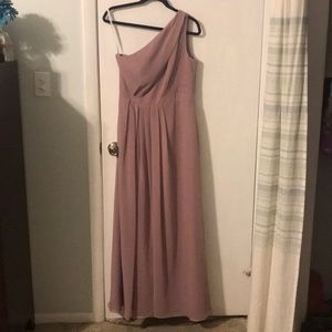 Davids Bridal Long Bridesmaid Dress
